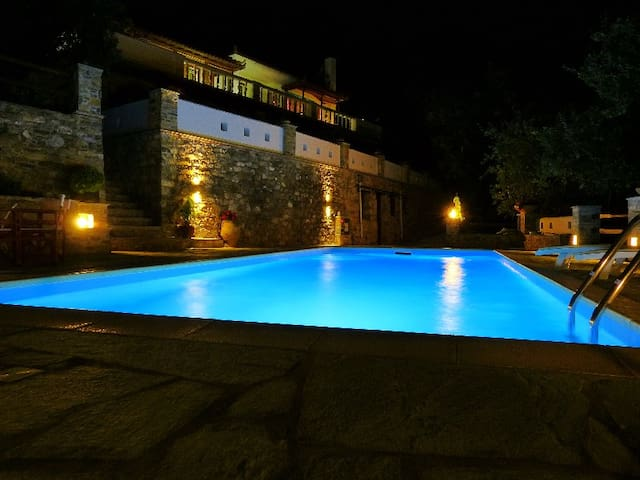"Villa ""Selini ""above Skopelos town  - Skopelos"