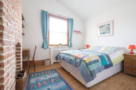 Double/twin room & private lounge - Kingston upon Thames - Hus