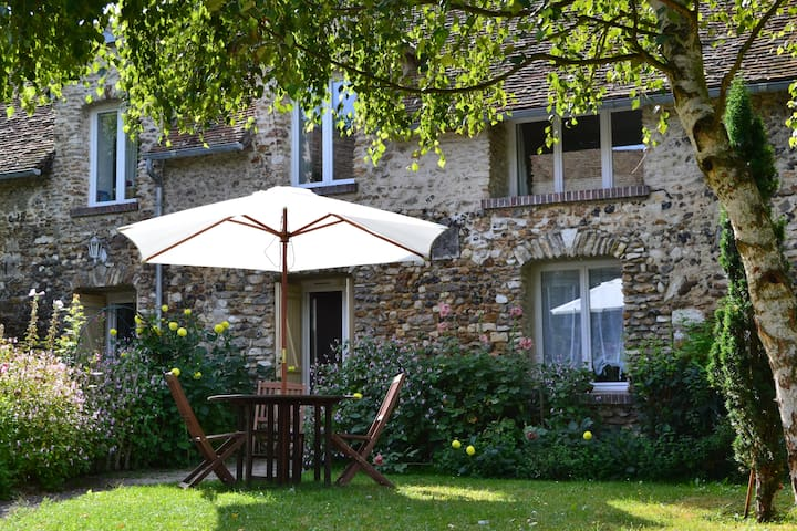 Le cottage rouge - Dannemarie - Talo