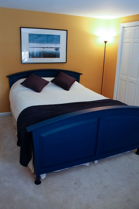 Master Bedroom with Small View of Ego Alley (waterfront)