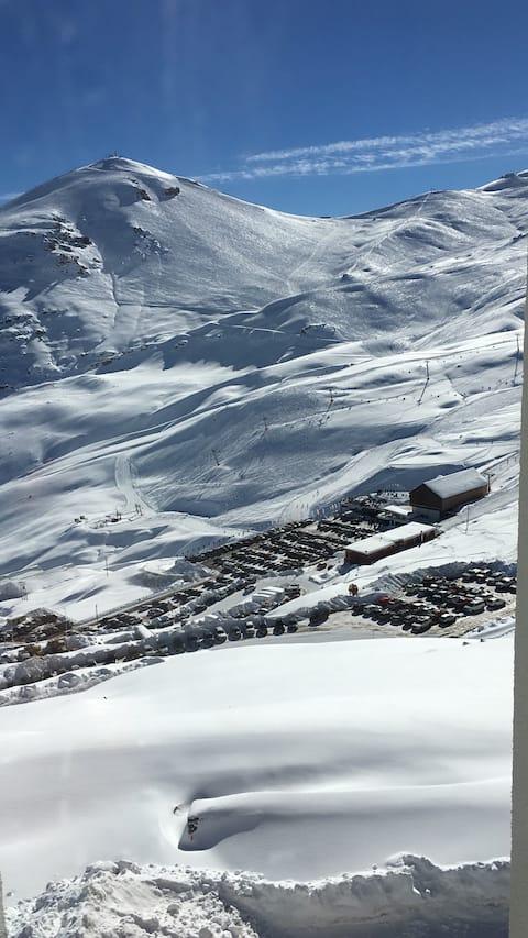 Valle Nevado Ski.