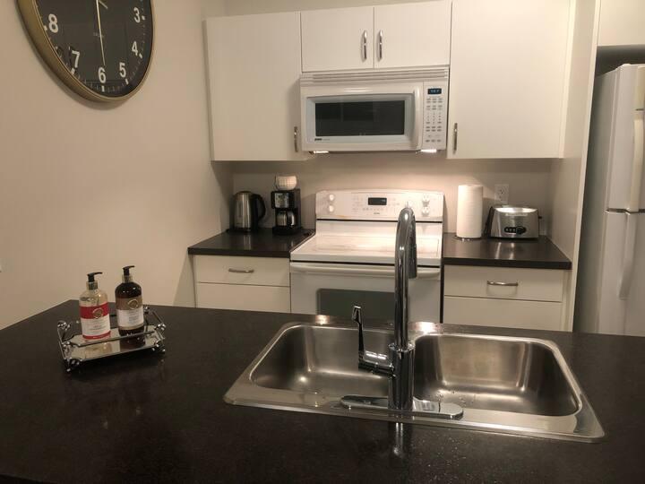 New 1 bedroom private suite in downtown Kamloops