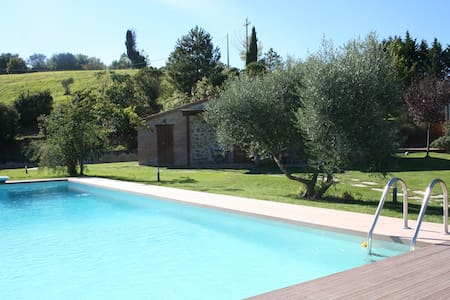 Double room in the countryside - Perugia