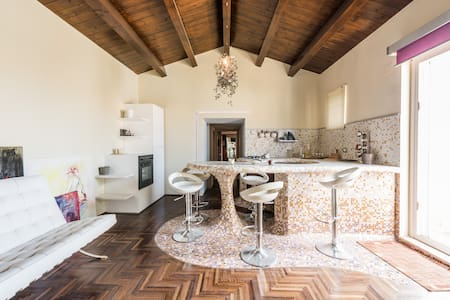 HISTORICAL CENTER, STUNNING ITALIAN DESIGN - Corato - Apartemen