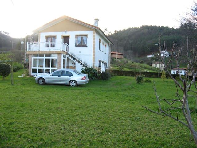 Casa Asturias - Concejo Cudillero - San Martín de Luiña - Departamento
