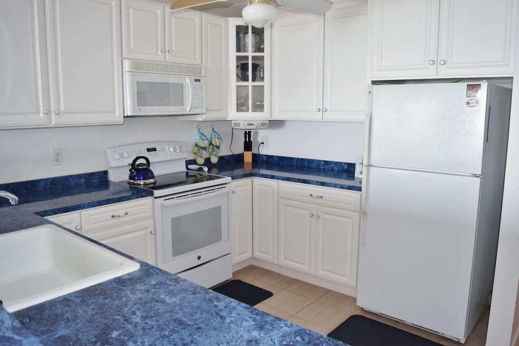 Kitchen Area- View 2