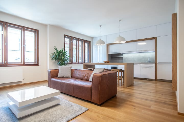 Luxurious and Quiet Apartment in the Vitrage House by easyBNB