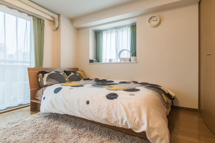 20mins from Shinjuku, portable hi speed WiFi cozy! - Shinjuku-ku - Apartamento