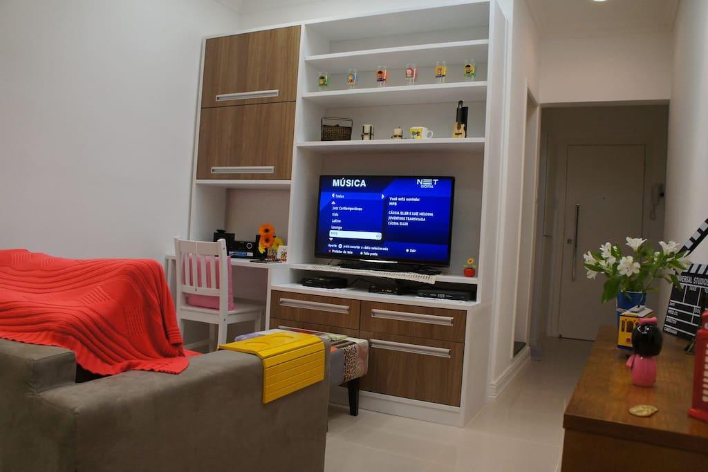 Ampla sala
