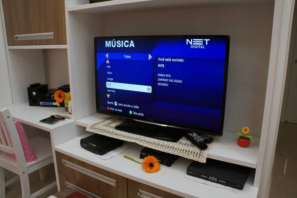 TV-Net e WiFi