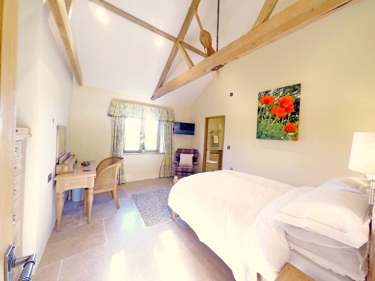 The Bothy is a lovely double room with garden views
