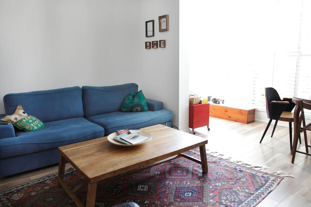 Cosy sofa.