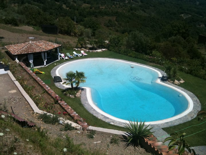 Villa with pool - Palinuro Campania