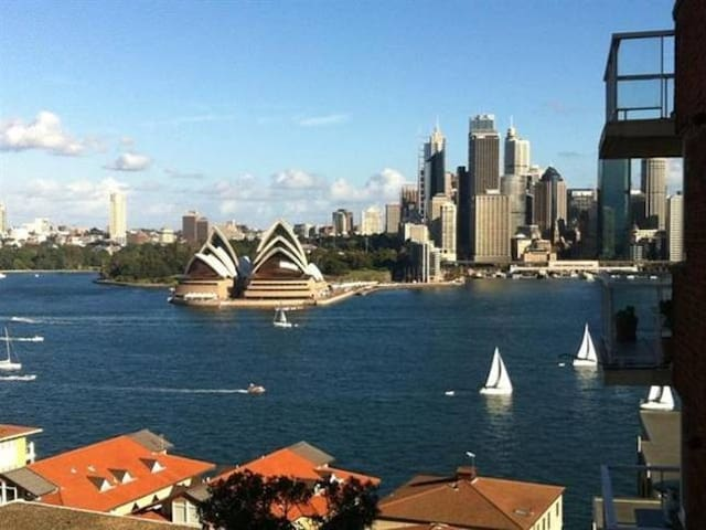 Kirribilli water views - Kirribilli - Daire