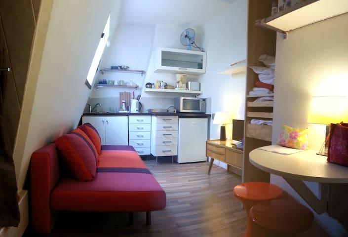 small studio Montmartre Sacré coeur