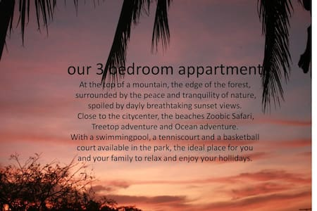 3-BR Apt in Subic: Nature & Sunset - Huoneisto