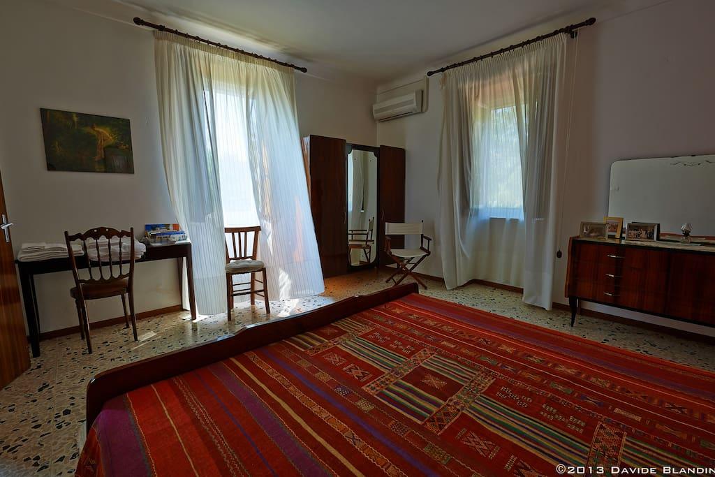 Una delle due stanze