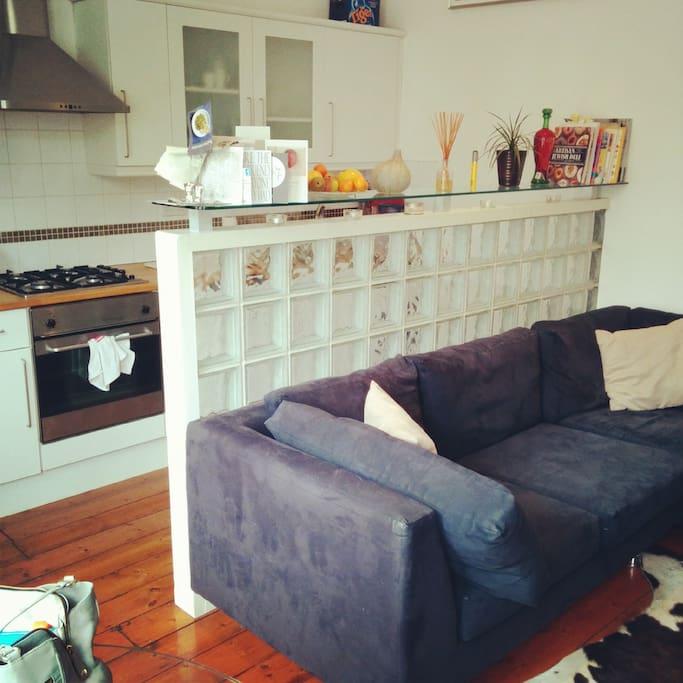 Very comfy corner sofa