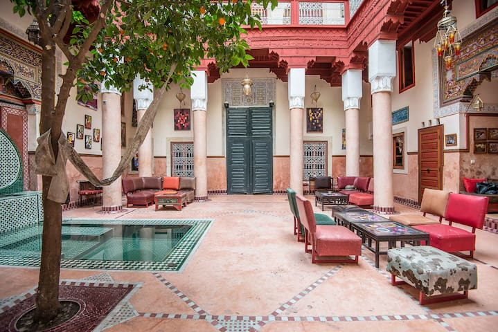Charming Riad Mouassine  / Jemaa El Fna district