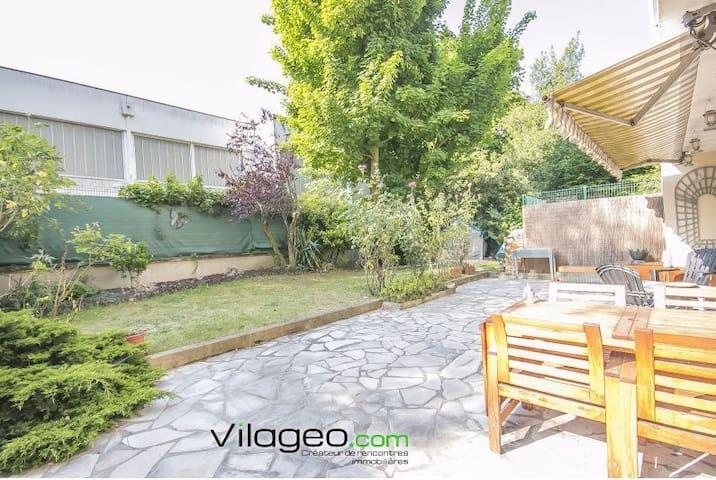 Appartement avec jardin privé au bord de Paris - Choisy-le-Roi - Leilighet