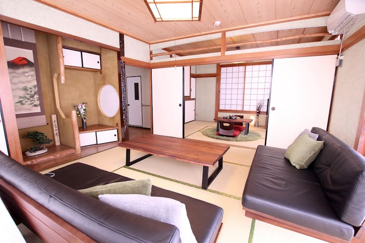 Located in center of Motobu, Max 16 person!