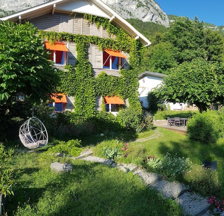 Lac d'Annecy, vue lac, maison+dépendance 175m2