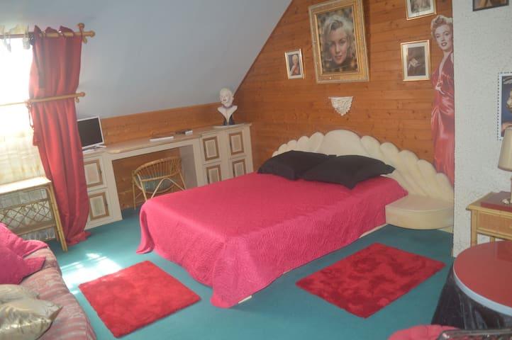 Une chambre conviviale