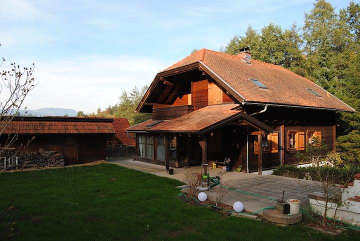 Almgefühl im Stadtgewühl - gemütliches Holzhaus
