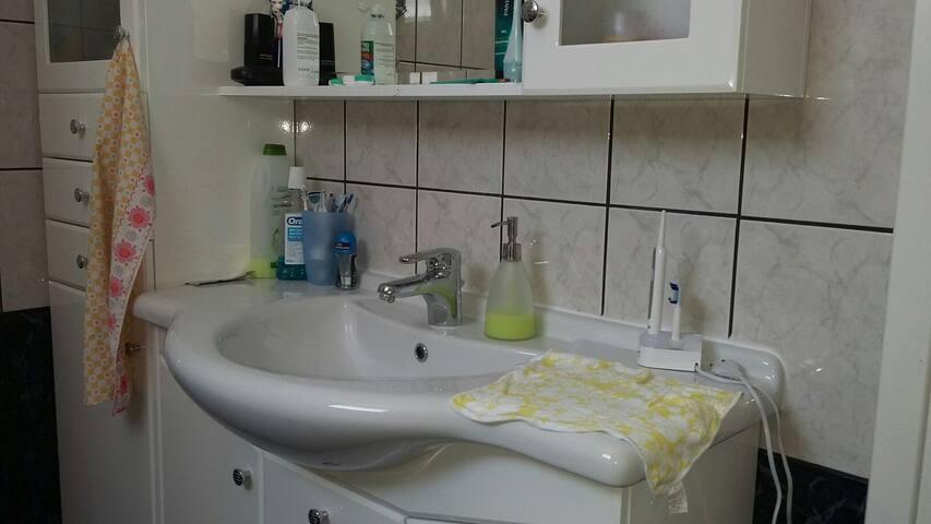 2 zimmerwohnung mit Bad Küche - Paleo Tsifliki - Lägenhet