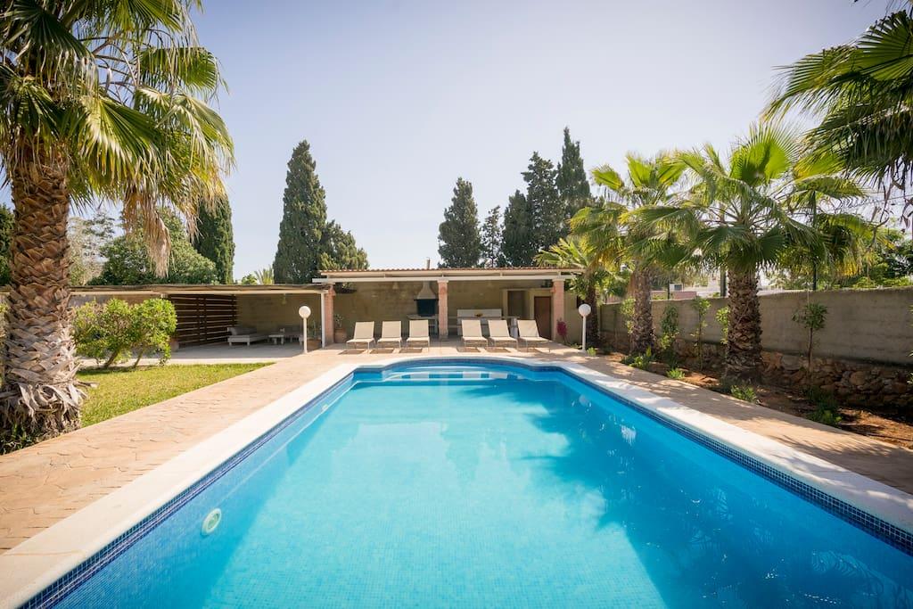 Villa Con Piscina Privada Cerca Ibiza Ciudad Villas En