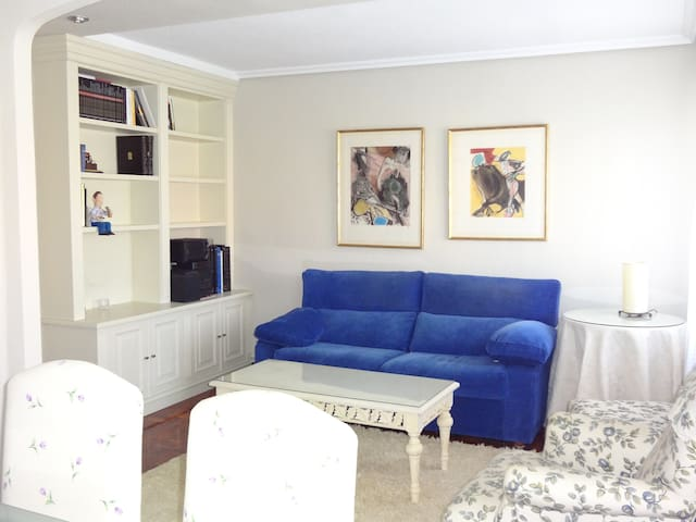 Sunny apt close to University with parking & wifi