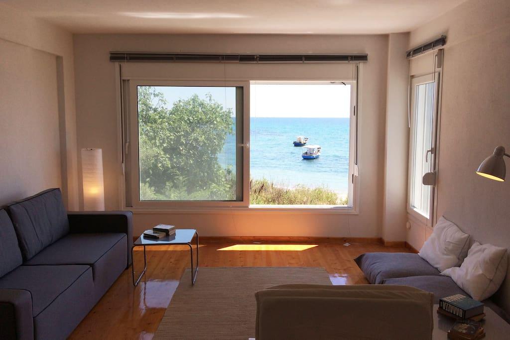 second floor living room - bedroom
