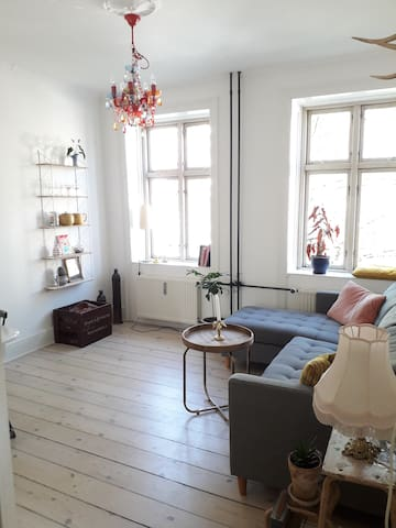 Cosy and light 2 room apartment