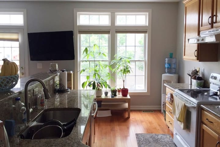 Minutes to Mosaic, magnificent Master Suite - Falls Church - 獨棟
