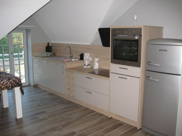 grand appartement moderne au coeur de Bagnoles