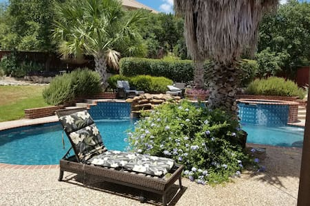 Comfy suite and Recreation haven-gr - Helotes - Hus