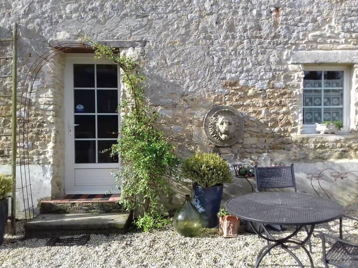 """Gite """" le jardin des sources"""" Bayeux"""