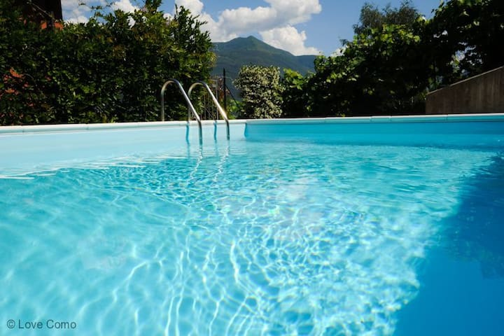 The Family Place great for Families - Pianello del Lario  - Apartamento