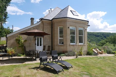 Self contained en-suite. Special garden and views. - Bath and North East Somerset - Huis