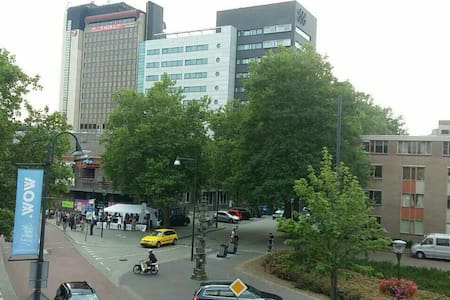 City Center: 5min walk to main train/bus station. - Eindhoven - 公寓