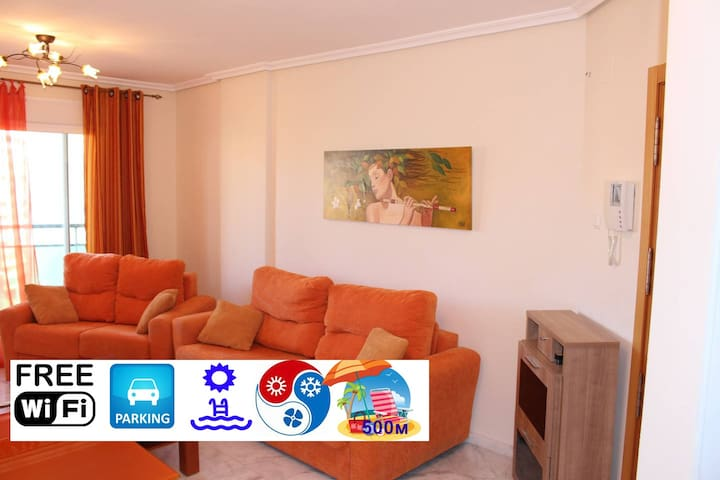 New flat,WiFi,parking,pool,beach - Benidorm - Apartemen