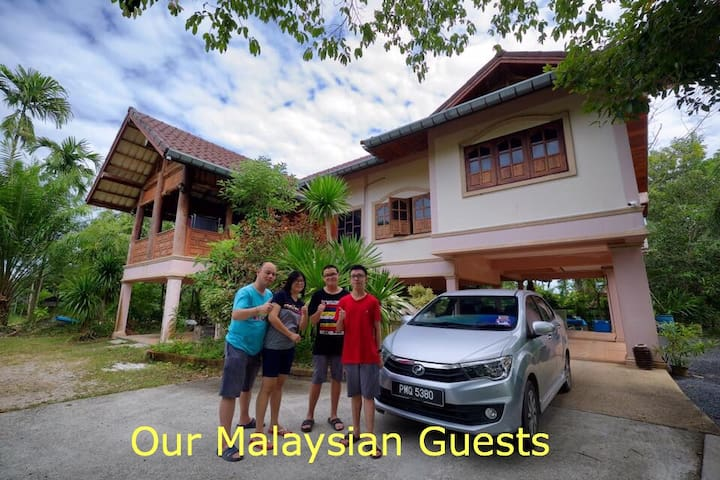 HOMESTAY with LOCAL FAMILY in Southern Thailand