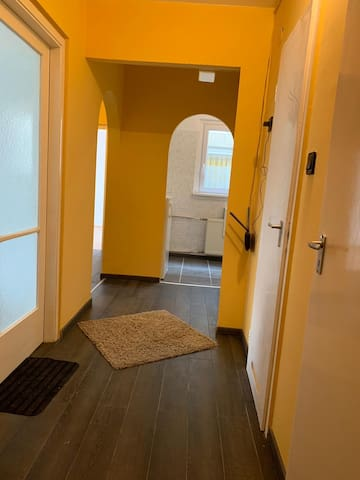 private room on renewed flat 17min to cinter