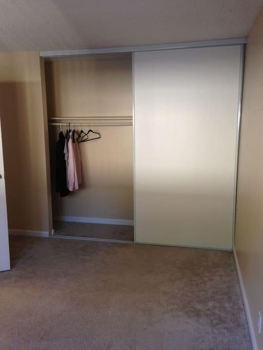 Big bedroom closet