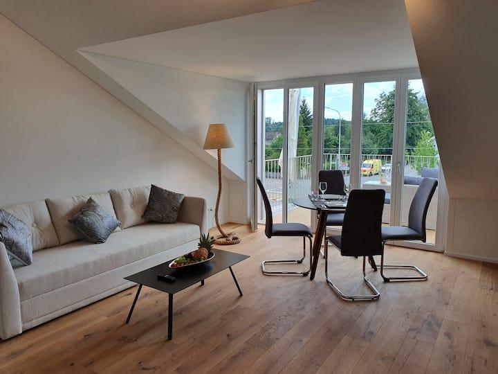 Exklusive, stilvolle Dachgeschosswohnung