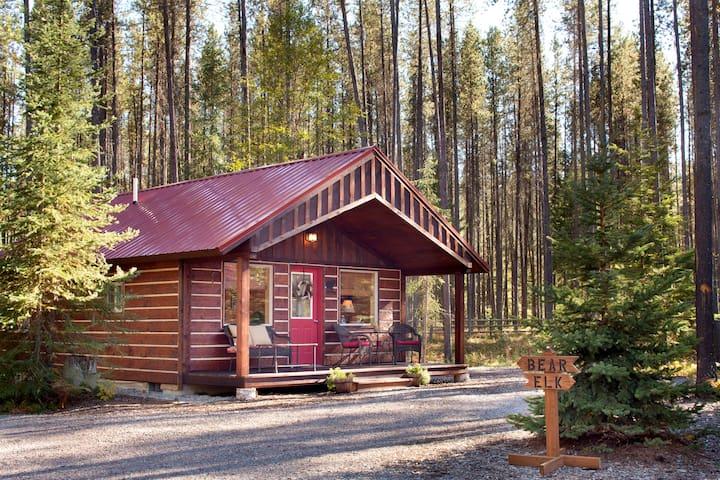 Reclusive Moose Cabins