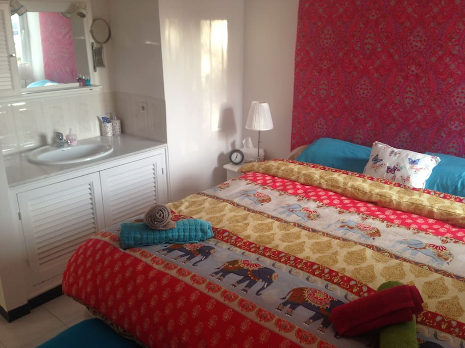 Main bedroom (Airbnb)