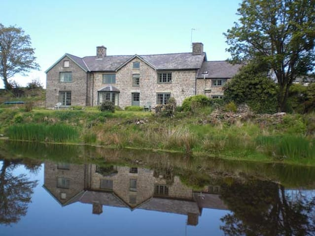 Twin bedroom with private bathroom - Ceredigion - Bed & Breakfast