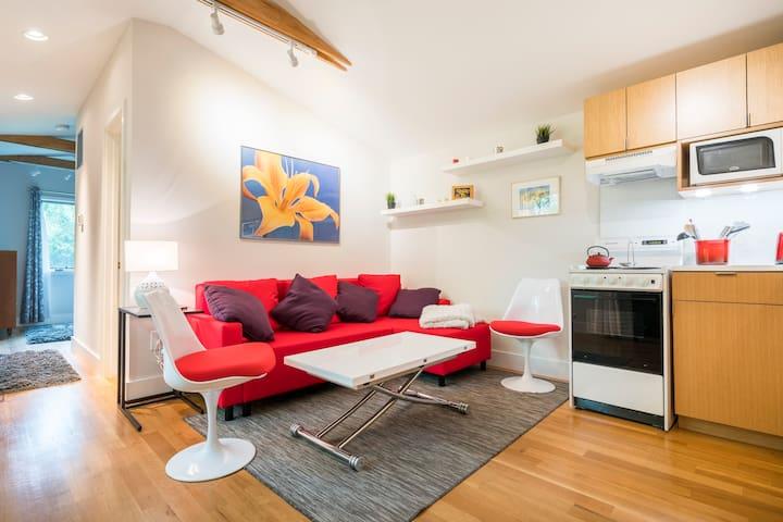 Modern, Comfy Apt for Vacation or Biz Travel!
