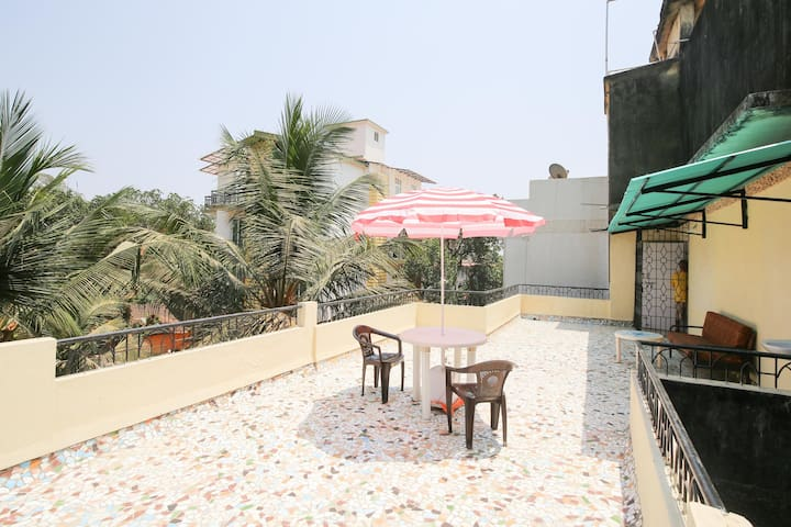 Sweet lil terrace apartment on a hill - Duler, Mapusa, Bardez - Appartement